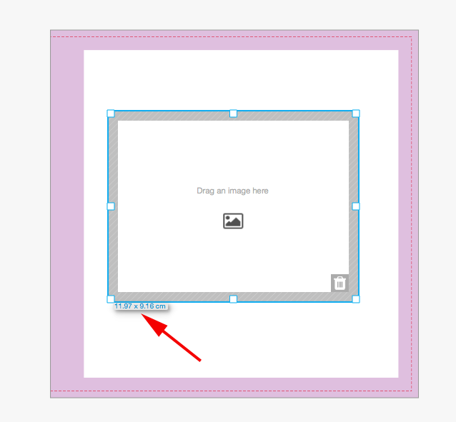 Edit A Bookwright Image Container And View Its Size Help Center