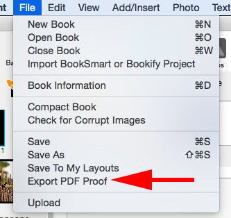 PDF Proof feature in BookWright – Help Center