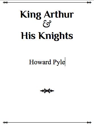 matter title page